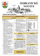 Sebranické noviny - leden 2014