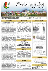 Sebranické noviny - leden 2015